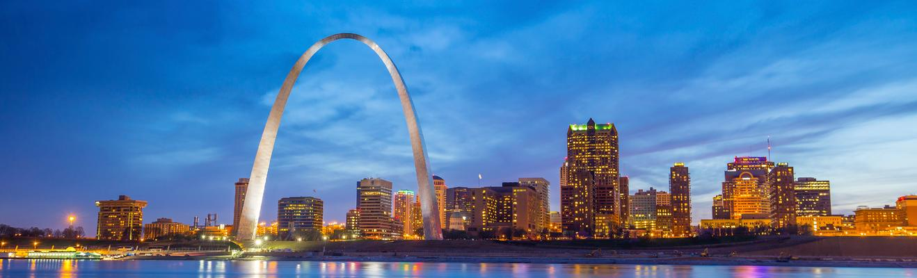 St. Louis - Romantic, Shopping, Eco, Urban, Historic, Nightlife