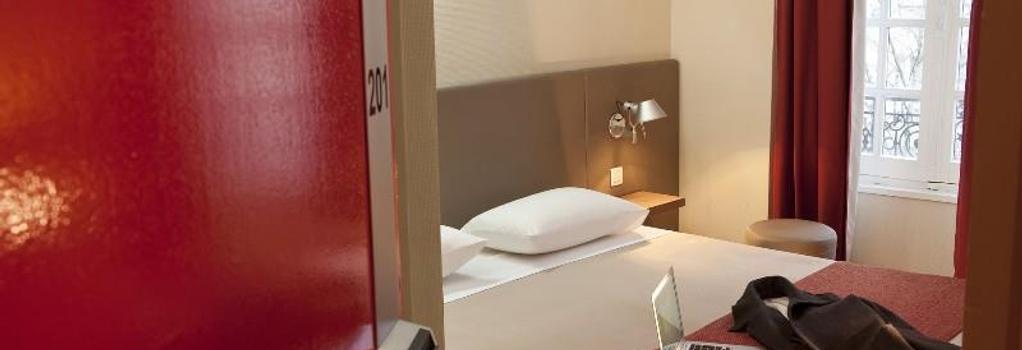 Coeur de City Hotel Bordeaux Clemenceau - Bordeaux - Bedroom