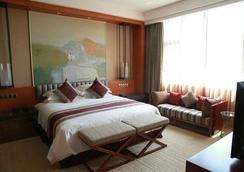 Chengdu Airport Hotel - เฉิงตู - ห้องนอน