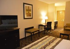 Best Western Plus Hobby Airport Inn & Suites - ฮุสตัน - ห้องนอน
