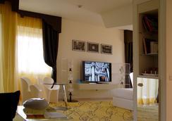 Hotel Ripa Roma - โรม - ห้องนอน