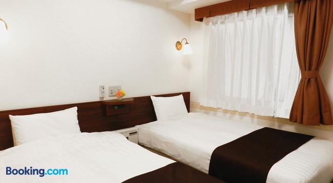 Hotel Check In Shimbashi - Tokyo - Bedroom