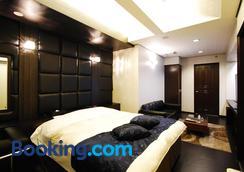 Hotel Free Style Okayama - โอคายามะ - ห้องนอน