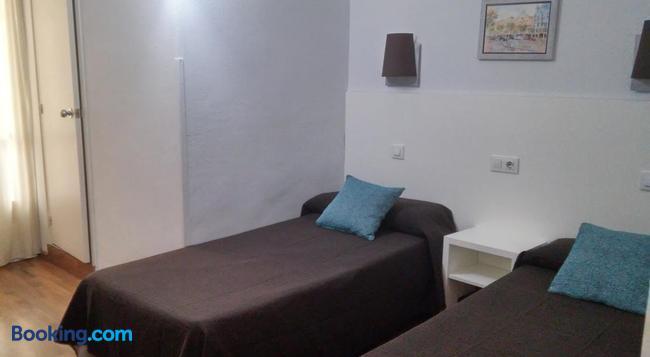 Hostal Lesseps - Barcelona - Bedroom