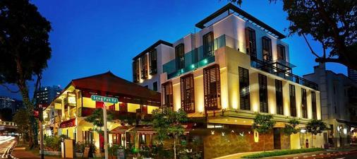 โรงแรมนอสทัลเจีย - สิงคโปร์ - อาคาร