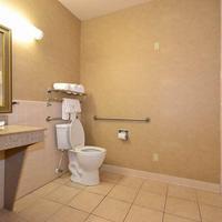 Best Western Casa Villa Suites Mobility Accessible Guest Bathroom