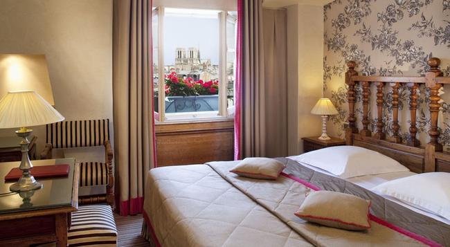 Hotel Left Bank Saint Germain - Paris - Bedroom