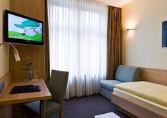 City Partner Hotel Berliner Hof - คาร์ลสฮัวร์ - ห้องนอน