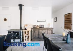 Trasti & Trine´s Lodge - อัลต้า - ห้องครัว