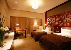 Parkview Hotel Shanghai - เซี่ยงไฮ้ - ห้องนอน