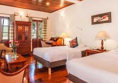 Mekong Riverview Hotel - หลวงพระบาง - ห้องนอน