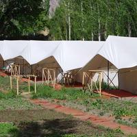 Mystique Meadows Camp Hotel Front