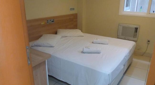 Hotel Minuano Home - Porto Alegre - Bedroom