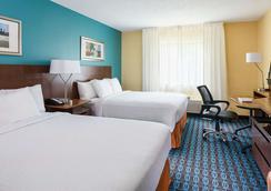 Fairfield Inn and Suites by Marriott Houston Westchase - ฮุสตัน - ห้องนอน