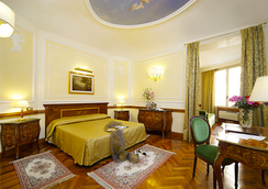 Hotel Hiberia - โรม - ห้องนอน