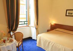 Hotel Stella - โรม - ห้องนอน