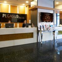 Pegasus Apartment Hotel Lobby