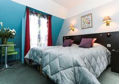 Le Régent Hostel Montmartre - ปารีส - ห้องนอน