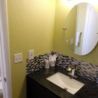 1st Interstate Motel Bathroom Sink