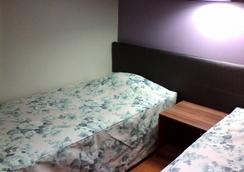 Hotel Spazzio Residence - ฟอร์ทาเลซ่า - ห้องนอน
