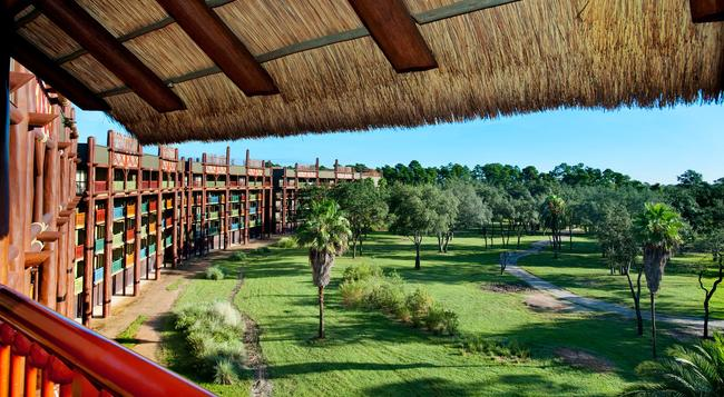 Disney's Animal Kingdom Villas - Jambo House - Lake Buena Vista - Building