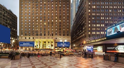 โรงแรมเพนซิลเวเนีย - นิวยอร์ก - อาคาร