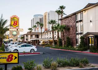 Super 8 Las Vegas Strip Area at Ellis Island Casin