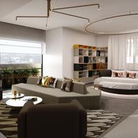 W Amsterdam Wow Suite - Rendering