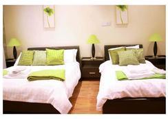 Hotel Makedonia - ลอนดอน - ห้องนอน