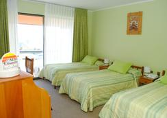 Hotel y Cabañas Mar de Ensueño - ลา เซอราน่า - ห้องนอน
