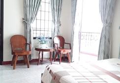 An Hoa Hotel - นาตรัง - ห้องนอน