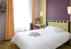 Hotel Montparnasse Alesia - ปารีส - ห้องนอน