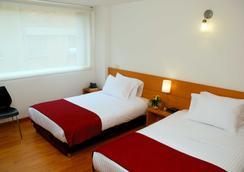 Abitare 56 Hotel - โบโกตา - ห้องนอน