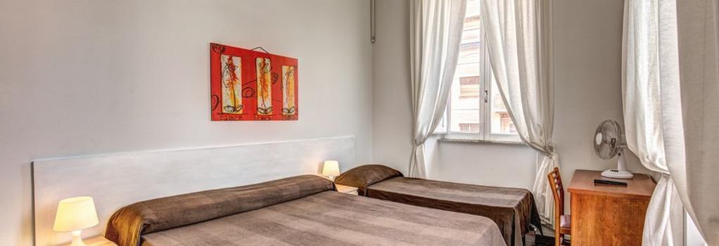 Hotel Lodi - Rome - Bedroom