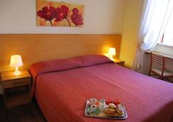 Hotel Lodi - โรม - ห้องนอน