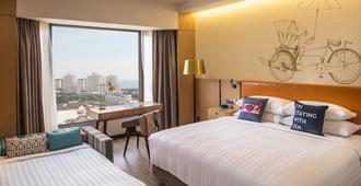 Hotel Jen Penang - จอร์จทาวน์ (ปีนัง) - ห้องนอน