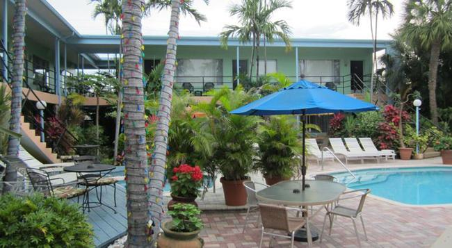 The Victoria Park Hotel - Fort Lauderdale - Building