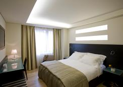 O&B Athens Boutique Hotel - เอเธนส์ - ห้องนอน