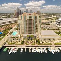 Tampa Marriott Waterside Hotel and Marina Exterior