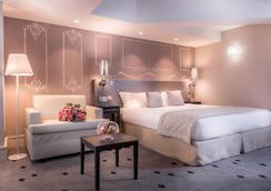 Hotel Beauchamps - ปารีส - ห้องนอน