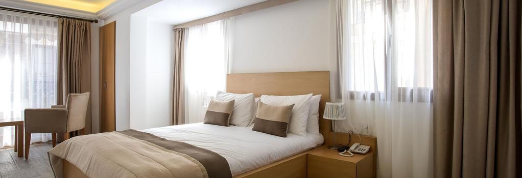 MB City Hotel - Izmir - Bedroom