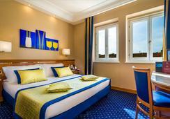 Hotel Diocleziano - โรม - ห้องนอน