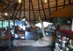 Elephant Valley Lodge - Kasane - ล็อบบี้