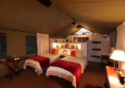 Elephant Valley Lodge - Kasane - ห้องนอน