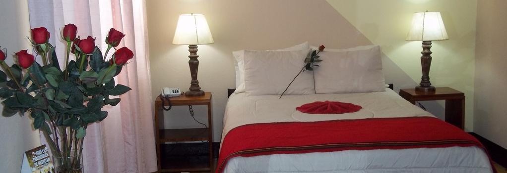 Hotel Pan American - Guatemala City - Bedroom