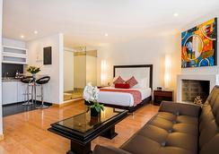 Hotel Hill House - โบโกตา - ห้องนอน