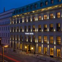 Titanic Gendarmenmarkt Berlin Hotel Front - Evening/Night
