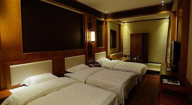 GreenTree Alliance Lijiang Gucheng Hanbang Haoyuan Hotel - Lijiang City - Bedroom
