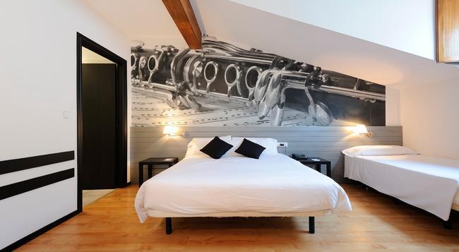 Abba Jazz Hotel - Vitoria-Gasteiz - Bedroom