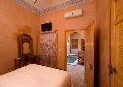 Riad Lakouas - มาราเกช - ห้องนอน